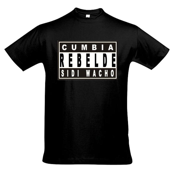 Tee shirt Cumbia rebelde